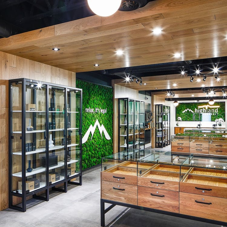 Highland Cannabis - Inside our Kitchener dispensary location